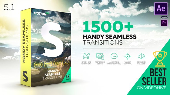 Handy Seamless Transitions V5.1 - vfxfree.com
