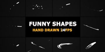 Videohive Funny Shapes