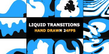 Videohive Funny Liquid Transitions
