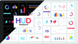 HUD Dashboard Infographics