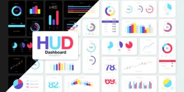 HUD Dashboard Infographics