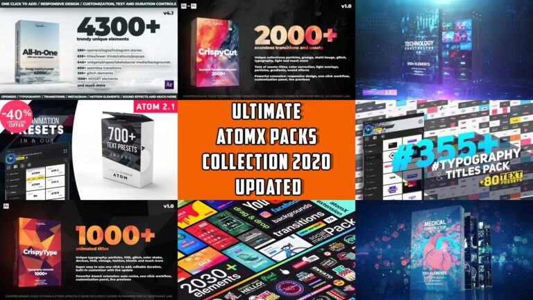 AtomX Packs Collection