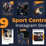 Sport Centre Instagram Story